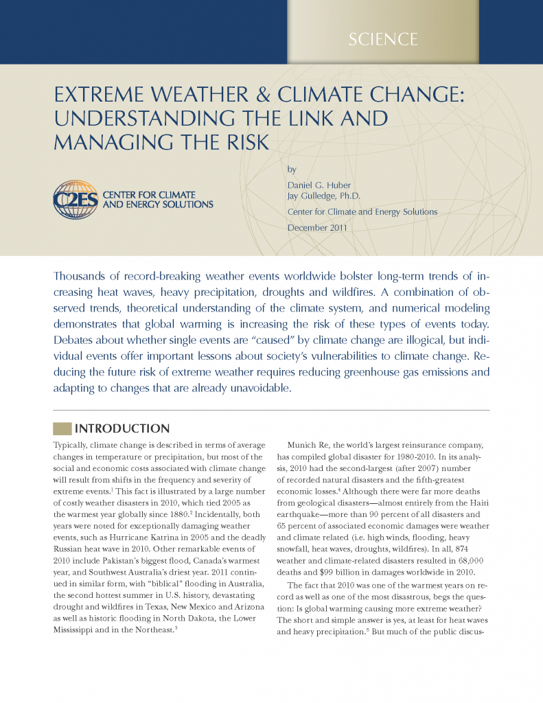 reaction paper about climate change and global warming