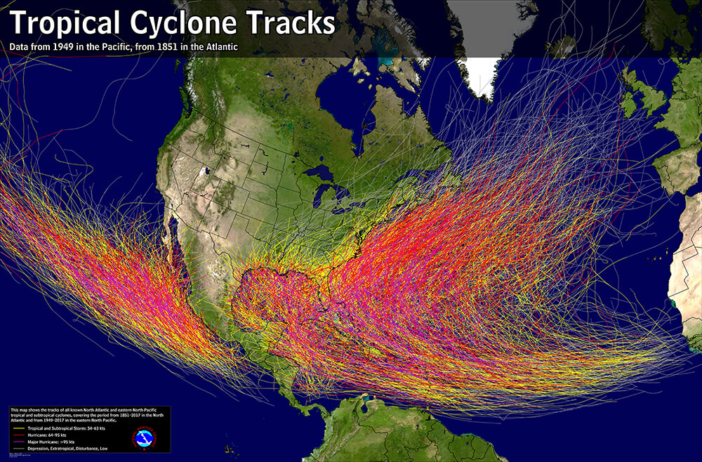 Hurricanes and Climate Change | Center for Climate and ...
